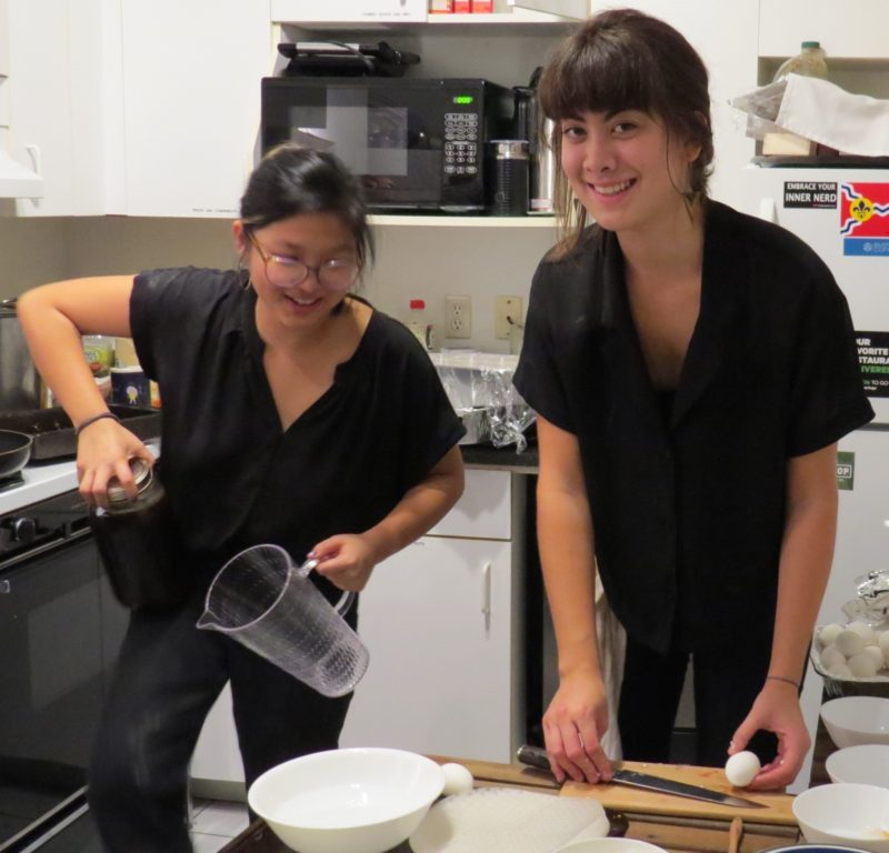 Nicki's Central West End Guide Education Food and Drink  Washington University TechArtista supper clubs St. Louis Sprouted Radish Supper Club Sachi's Cakes Sachi Nagase MO Katie Yun Central West End