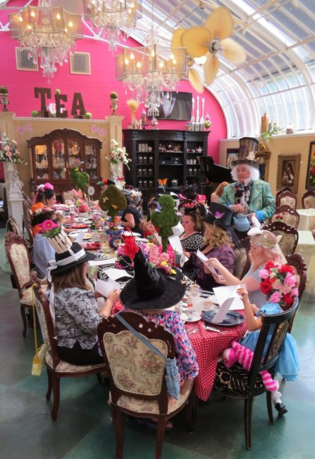 The Mad Hatter Tea Party Room