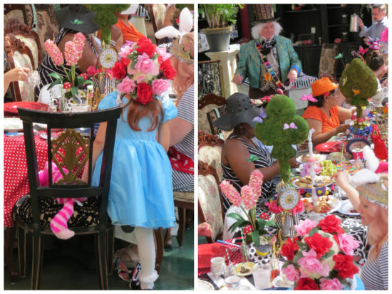 Nicki's Central West End Guide Events, Sightings Food and Drink For Children Services  Michael Shreves Mary Ann's Tea Room MadHatter Tea Party Enchanting Embellishments Central West End