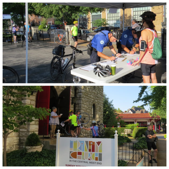 Nicki's Central West End Guide Events, Sightings For Children Services Shop News  Trinity Episcopal Church Rector Father Jon Stratton Mike's Bikes Eric Schlling Central West End