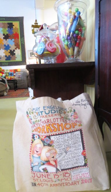Nicki's Central West End Guide Art & Architecture Books, Dance, Music, Theater Events, Sightings Handmade  Vintage by Crystal Sheldon Johnson Mary Engelbreit Marlene Lewis Lyn Magee Jone Hallmark Jenn McGlon Crystal Sloane Charlotte Lyons Central West End Cathe Holden Carla Dawson Bowood Farms Barbara Holtz #maryandcharlottesstudioworkshop