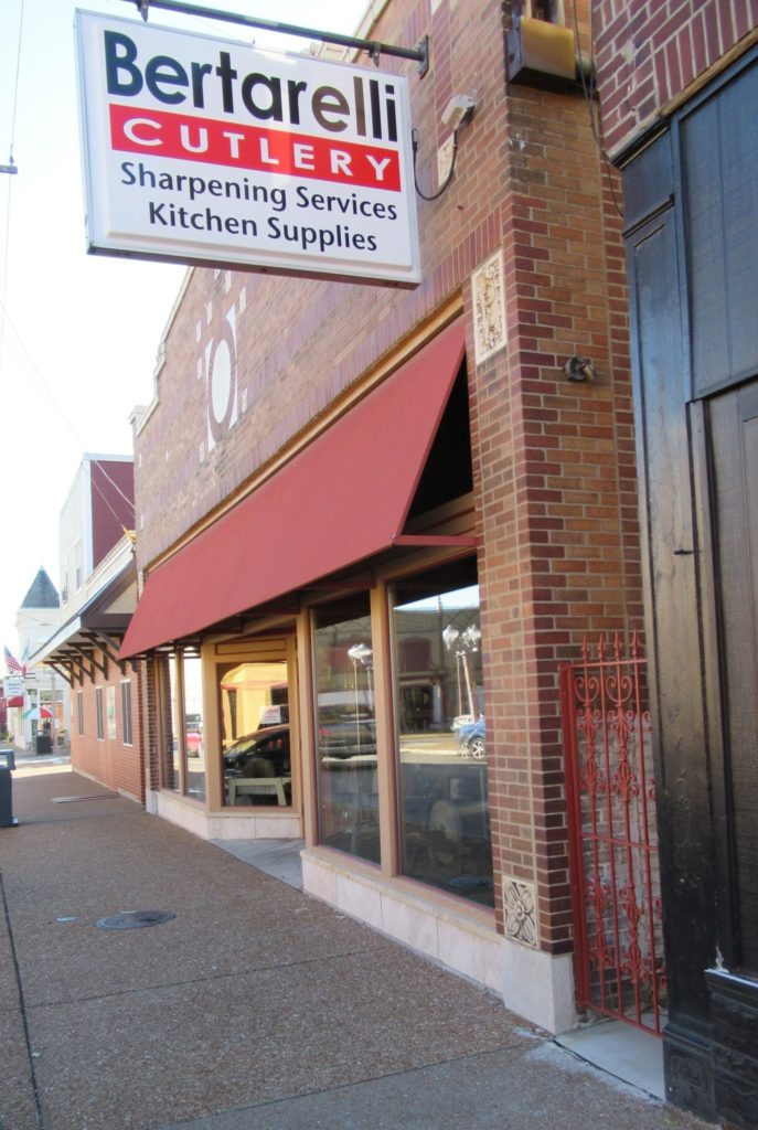 Nicki's Central West End Guide Services Shop News  The Silver Lady The Hill Skif International Lori Shifter Bertarelli Cutlery