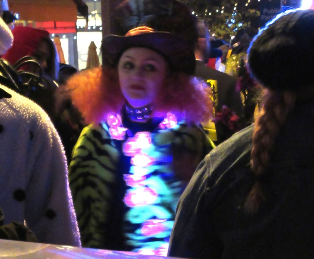 Nicki's Central West End Guide Art & Architecture Events, Sightings  St. Louis MO Halloween 2017 DJ Agile One Central West End Adult Costume Contest