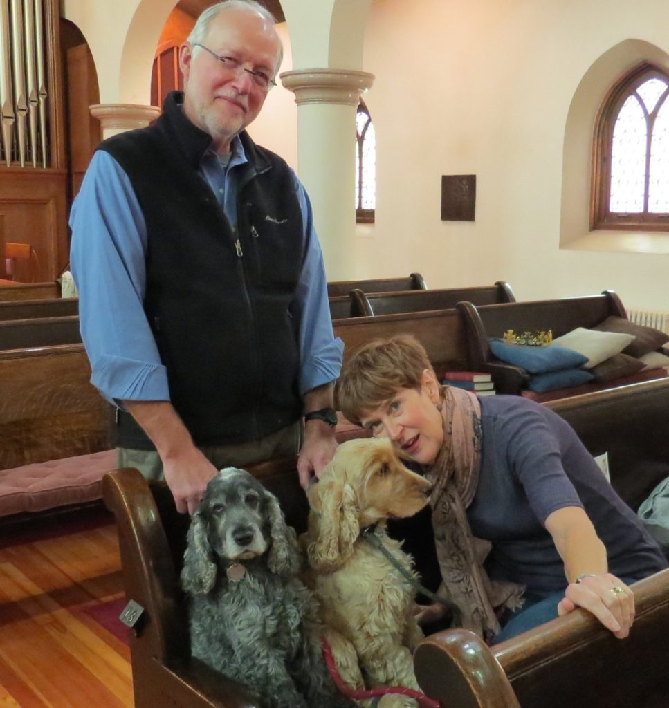 Nicki's Central West End Guide CWE Pets Events, Sightings  Trinity Episcopal Churchl St. Louis MO Father Jon Stratton Central West End Blessing of the Pets Blessing of the Bicycles