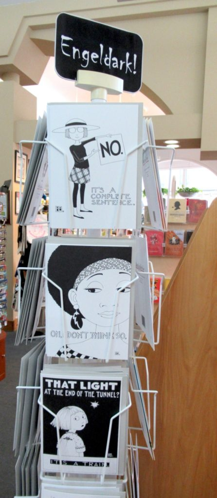 Nicki's Central West End Guide Art & Architecture Shop News  Mary Engeldark cards Mary Engelbreit Left Bank Books Charlotte Lyons