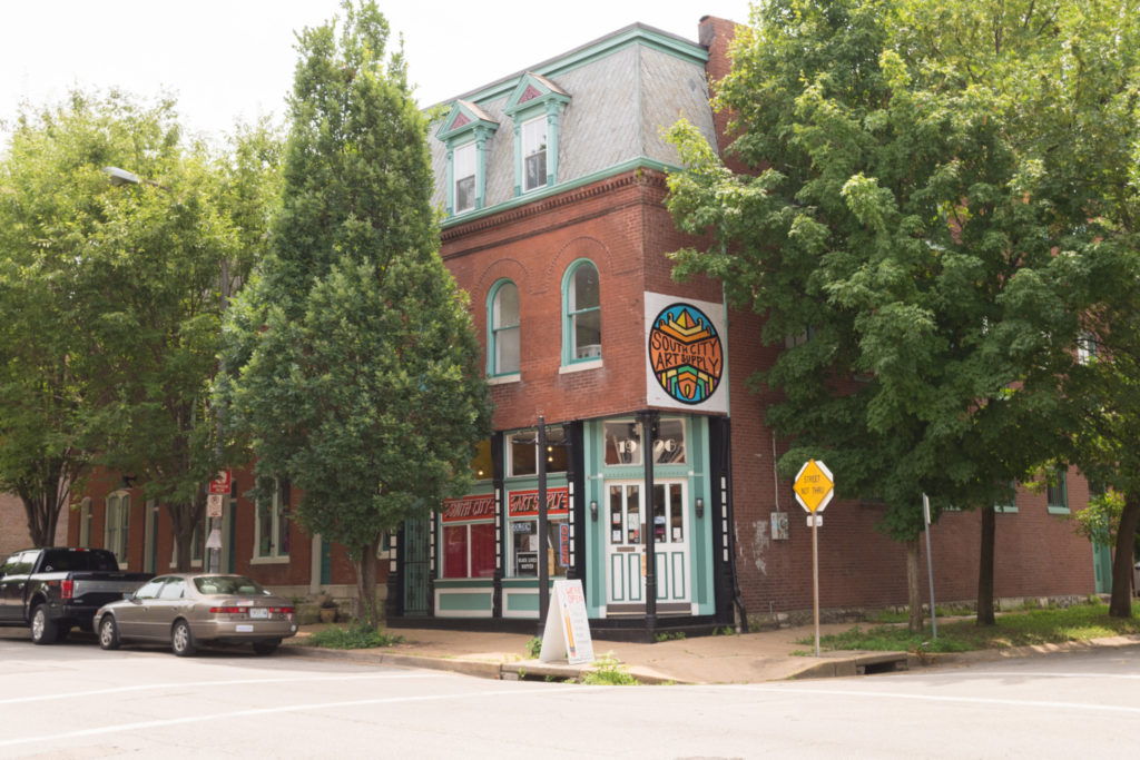 Nicki's Central West End Guide Art & Architecture Food and Drink Shop News  Xena Colby St. Louis Art Supply South City Art Supply Cornflower Coffee and Tea Central West End Carson Monetti
