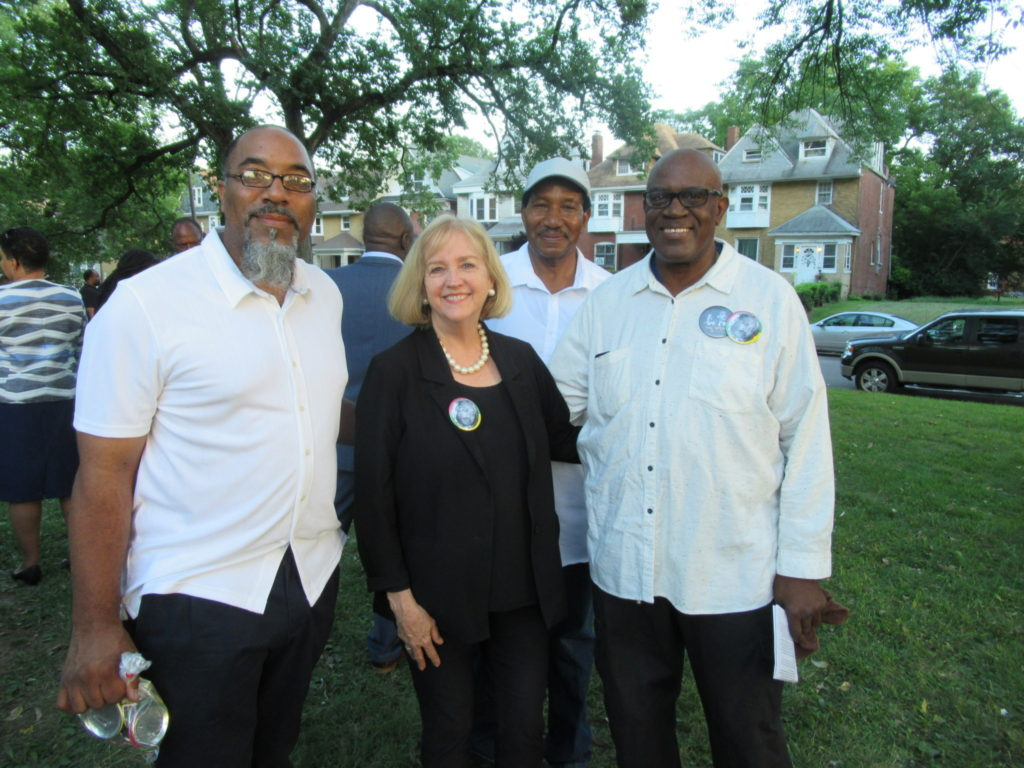 Nicki's Central West End Guide Art & Architecture Events, Sightings Urban Gardens  Wiley Price IV Rudolph Torrini Rabbi Susan Talve Mayor Lyda Krewson Lewis Reed Kevin Bryant Fountain Park 18th Ward Alderman Terry Kennedy