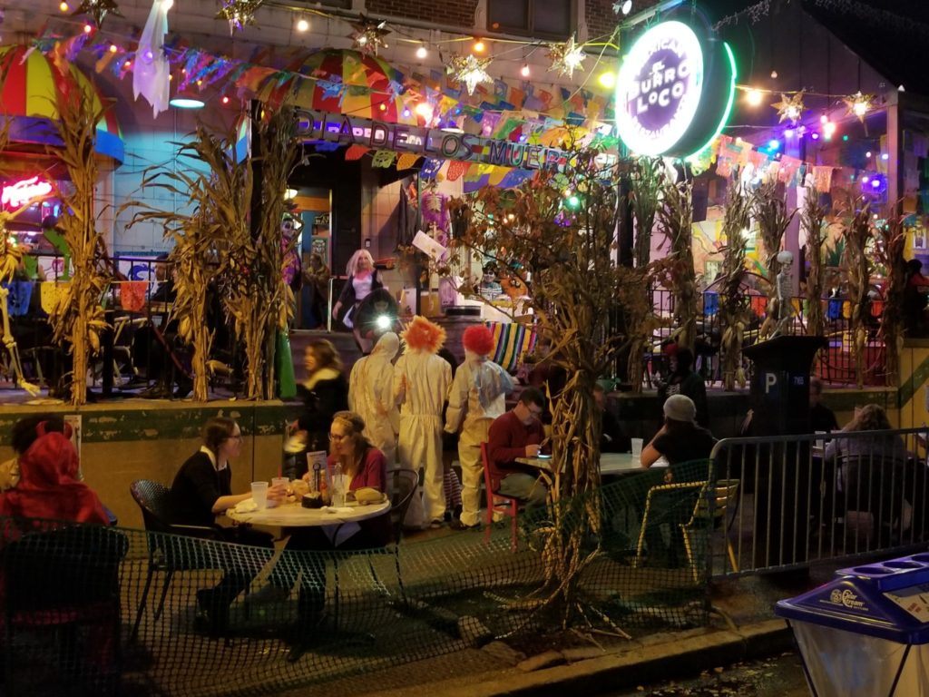 Nicki's Central West End Guide Art & Architecture Events, Sightings Food and Drink  St. Louis Evangeline's El Burro Loco DJ Crucial CWE Scene Central West End Bar Italia 2018's Halloween Costume Contest