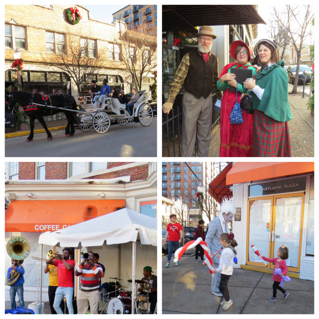 Nicki's Central West End Guide Art & Architecture Events, Sightings Food and Drink  Ted Koplar Maryland Plaza Kate Haher Holiday on the Plaza Frances Thompson CWE Window Walk CWE North Community Improvement District Central West End Association