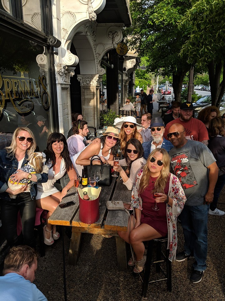 Nicki's Central West End Guide Events, Sightings Food and Drink  Yellowbelly Shake Shack Rose Day Michael Powers