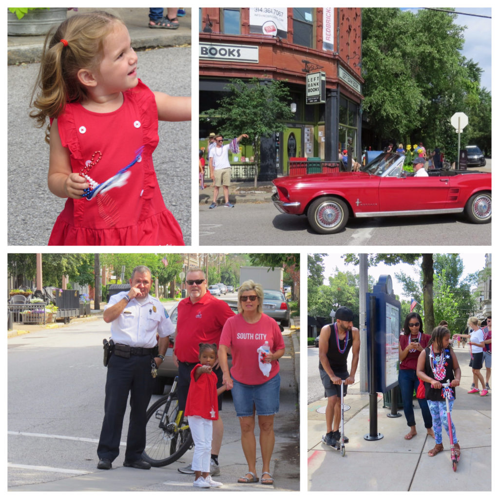 Nicki's Central West End Guide CWE Pets Events, Sightings For kids  Neighborhood Security Initiative Jim Whyte CWENorthCommunity Improvement District Central West End Association 4th of July Family Parade Central West End Association