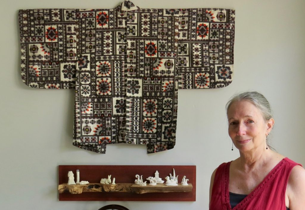 Nicki's Central West End Guide Art & Architecture Events, Sightings  Wendy Wees Surface Design Association Milo Duke Meisen Kimono Linda Horsley Innovations in Textiles 2019 Horsley Arts