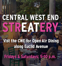 Nicki's Central West End Guide Food and Drink Shop News  StrEATery CWE Scene CWE North Community Improvement District