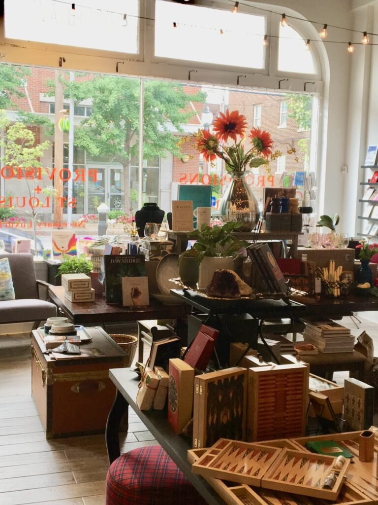 Nicki's Central West End Guide Shop News  Wolfum Studio Provisions St. Louis Debra and Ross Hunter
