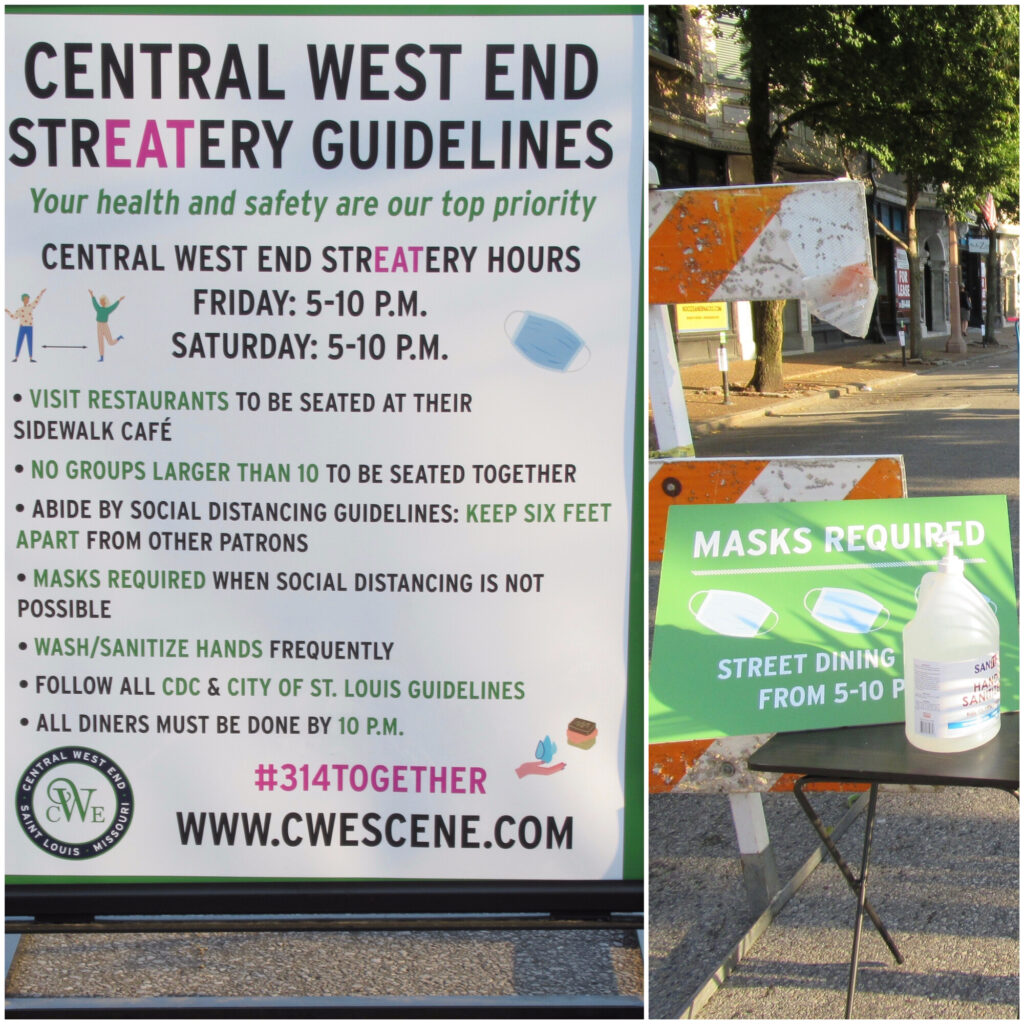 Nicki's Central West End Guide Events, Sightings Food and Drink  StrEATery CWENorthCommunity Improvement District Central West End